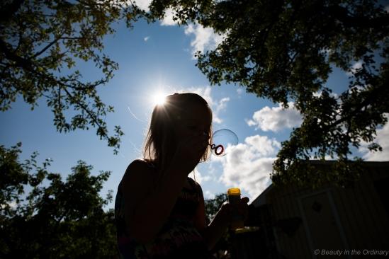 Sun and Bubbles