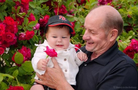 Morfar and Baby Boy
