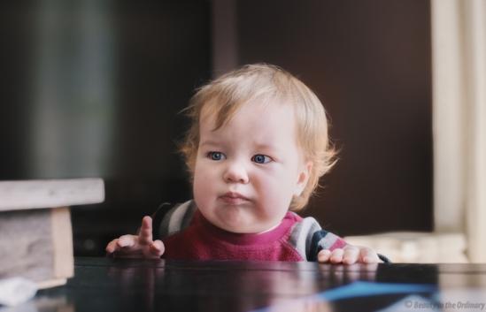 Baby vs Table