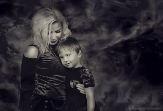 Mother and Son - Retouching